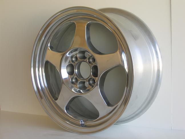 Nippon F-2 Racing Wheels 15 Inch Rims 4x100 Silver Plsh | eBay